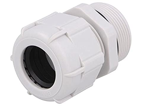 BM4932L Cable gland with long thread M32 IP68 Mat polyamide grey BM GROUP