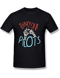limei Hombre Twenty One pilotos Logo Camiseta