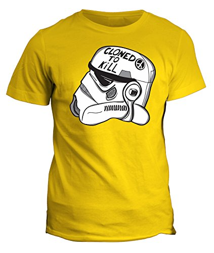 Fashwork tshirt stormtrooper star wars - cloned to kill - in cotone by