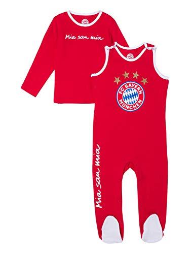FC Bayern München Strampler Logo Baby, 74/80