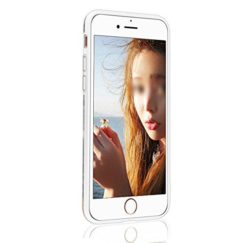 iPhone X Hülle, Sunroyal Marble Shining Handytasche HandyHülle Glänzend Case Shiny Change Bunt Marmor Muster Soft TPU Silikon Schutz Handy Hülle Cover Tasche Schutzhülle für iPhone X 5,8 Zoll Rutschfe Farbe 01