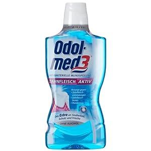 Odol-med 3 Zahnfleisch aktiv antibakterielle Mundspülung