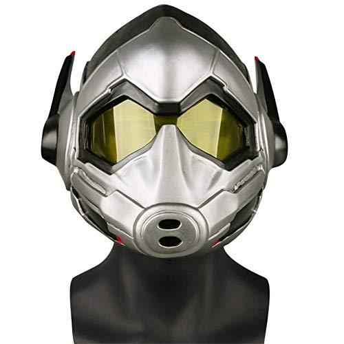 BLOIBFS Ant Man 2: Wespen Weiblich Erscheinende Masken Halloween Marvel Film Cosplay Webcast Requisiten,A