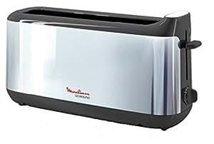 Moulinex LS110030 Grille-pain Accessimo Inox Brillant/Noir