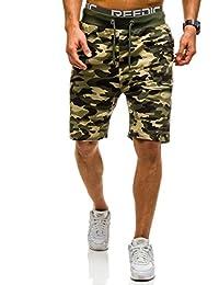 BOLF – Pantalons de sport – Pantalons courts – Short – Military – Motif – Homme [7G7]