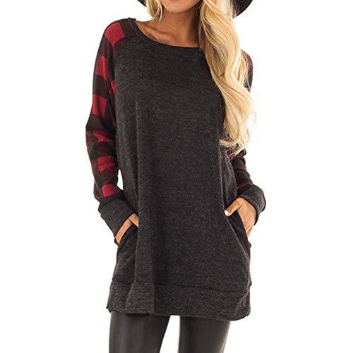 Maglione donna felpa con cappuccio inverno lattice sciolto maniche lunghe distintivo sweatshirt hoodie camicetta dolcevita classico tops qinsling