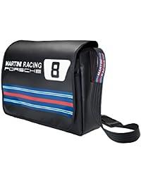 Tracolla Porsche Design, linea Martini Racing - robusta e impermeabile con striscia MARTINI RACING