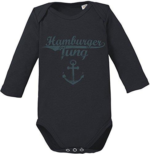 EZYshirt Hamburger Jung & Deern Vol. 2 Baby Body Longsleeve Bio Baumwolle