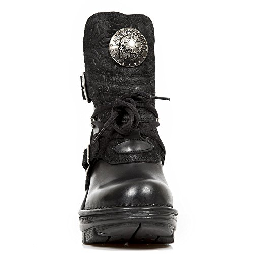New Rock Womens M TR061 Neo Trail Gothic Leather Boots Black
