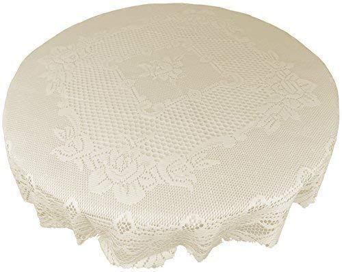 Cream Heavy Lace Table cloth 36 \
