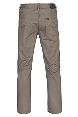 Lee Brooklyn Straight Men's Jeans Gray L452WH57
