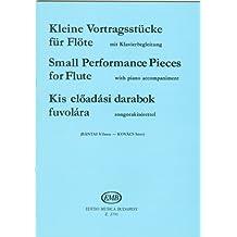 BANTAI y KOVACS - Pequeñas Piezas de Interpretacion para Flauta y Piano