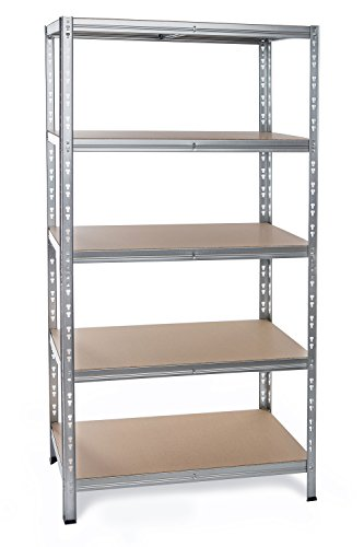 Preisvergleich Produktbild Regal 180x80x40 - Badregale Bücherregal Garagenregal Fachlagerregal Kistenregal