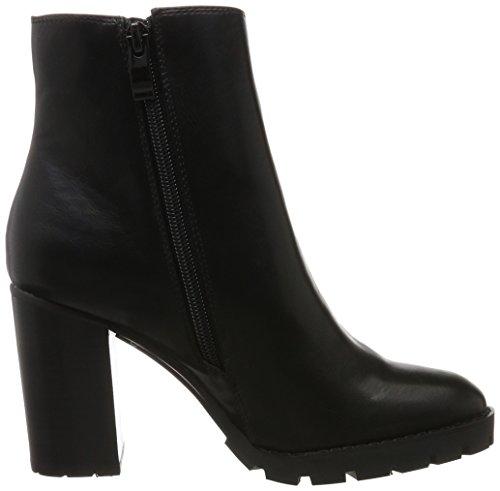 Buffalo Damen B118a-54 P1735a Pu Kurzschaft Stiefel Schwarz (Black 01)
