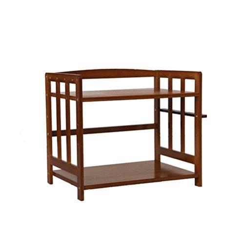 LQQGXLLagerung und Organisation Küchenschrank Mikrowelle Multi-Store Storage Rack Haushalt Massivholz (größe : 55x48x38cm) (Utility Küchenschrank Schrank)