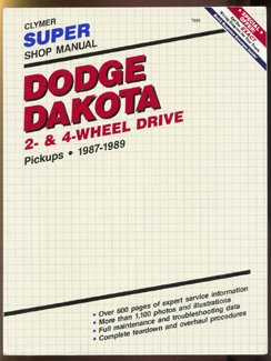 dodge-dakota-2-and4-wheel-drive-1987-1989-clymer-super-shop-manual-repair-series