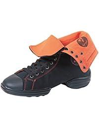 RUMPF 2 Star Sneaker chaussure de danse baskets en toile chaussures à lacets