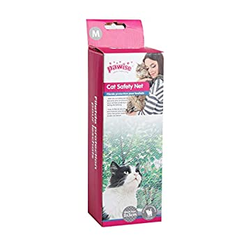 Pawise Filet de Protection pour Chat Transparent