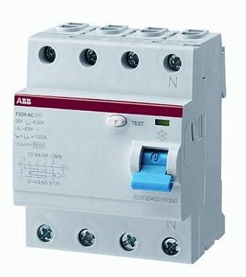 ABB Fi-Schutzschalter 2CSF204101R1400, 4-polig, F204A-40/0,03 von ABB - Lampenhans.de