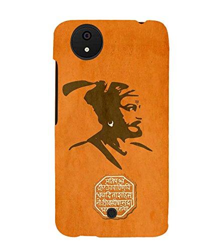 FUSON Chatrapati Shivaji Maharaj Rajmudra 3D Hard Polycarbonate Designer Back Case Cover for Micromax Canvas Android A1 AQ4501 :: Micromax Canvas Android A1
