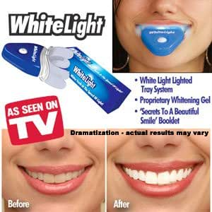 WHITELIGHT - Dr Harvey Silvermann- Systeme de Blanchiment dentaire, Effet INTENSE et RAPIDE.