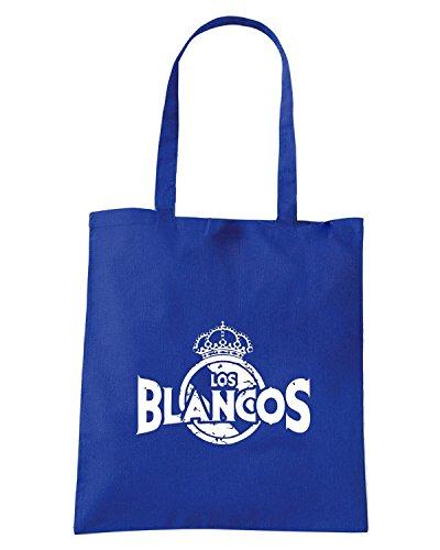 T-Shirtshock - Borsa Shopping WC0538 REAL MADRID T-SHIRT - LOS BLANCOS Blu Royal