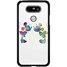 Mickey Mouse Minnie Mouse Watercolour Kiss Case Protective Cover Funda LG G4