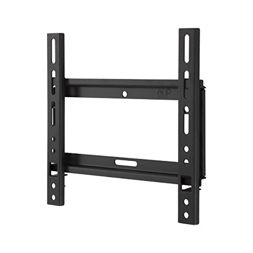 King Flache Wandhalterung Slim TV-Halterung für die Wand, geeignet für 39-Zoll-TVs, Kompatibel mit Vesa, 75mm x 75mm-200mm x 200mm. MaximalesTV-Gewicht: 15kg LED LCD PLASMA Flachbild-TVs, gekrümmte TVs Flush-mount-lcd-tv