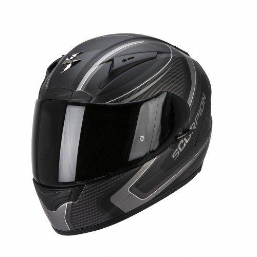 Scorpion 36-206-159-02 exo-2000 evo air casco sportivo con calotta esterna in fibre composite multicolore