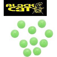 Black Cat Rubber Shock Beads 10mm Gummiperlen für Wallermontagen Angelperlen
