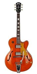 Guitares électriques CORT YORKTOWN BV ORANGE Demi-caisse