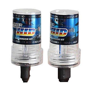 Sipobuy H7 55W 6000K Lámpara de Xenón de Faros Bombilla HID Xenon luz luces de Coche Coches Blanco AC 12V, (Pack of 2)