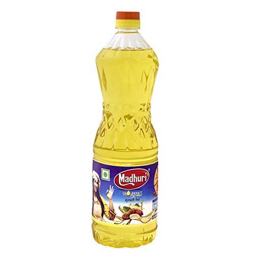 Madhuri Cooking Oil Virgin Cold Pressed Groundnut Oil Pet Bottle (1 L)