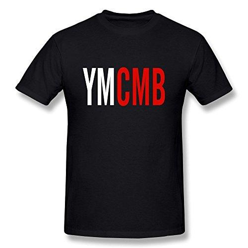 Huang Yu RG Ymcmb Men's T Shirts XL,Black Large