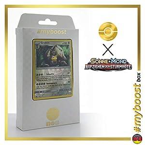 Grebbit (Diggersby) 88/111 Holo Reverse - #myboost X Sonne & Mond 4 Aufziehen Der Sturmröte - Box de 10 Cartas Pokémon Aleman