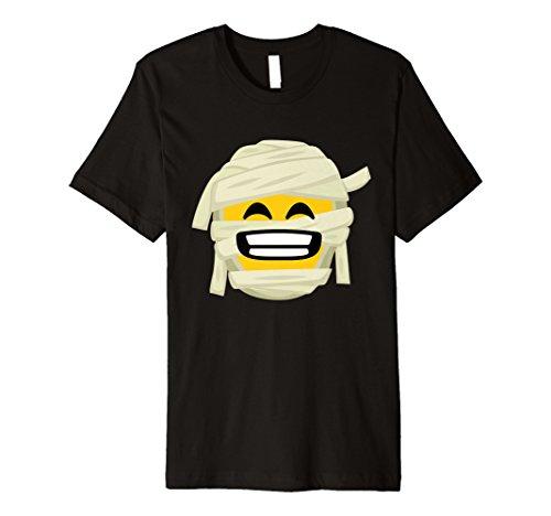 Mummy Emoji-T-Shirt Big Smile Halloween-Kostüm - Big Smile Kostüm