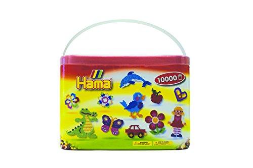 UnabhäNgig Hama Bügelperlen Midi 22 Farben Vollton Mix 6000 Perlen