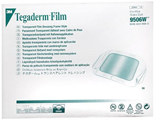 3M 3M Tegaderm Dressing Transparent 4 X 4.75 In, 10 each -