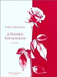 2 Danses Espagnoles Fur Gitarre (Edition Margaux)