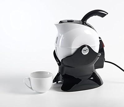 Aquarius disque Paolo Uccello bouilloire, mobilité de cuisine accessoire Sécurité pour personnes âgées, handicapés, l'arthrite, faible résistance, facile à verser Poignée de prise en main sûre, lesté Base antidérapante