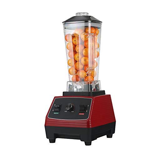 WFF Intelligente defekte Nahrungsmittelmaschine, halbautomatischer Haushalts-Multifunktionssojamilchmischer, Küchengeräte,rot,cm