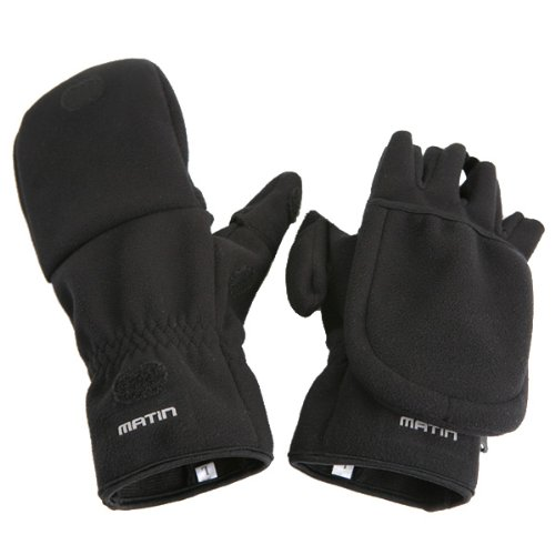 Matin m-7850Medium Multi Shooting Handschuhe–Schwarz (Shooting Medium Glove)