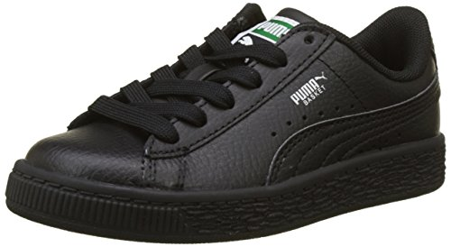 Puma Unisex-Kinder Basket Classic LFS PS Sneaker, Schwarz Black 3, 28 EU