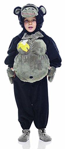 Rubie's Rubie s it30630-todd-Kostüm Morbidosi: Gorilla, Kind, Größe Toddler