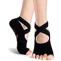 Amazon.es  calcetines pilates - Running  Deportes y aire libre 94703abb251b