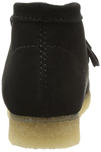 Clarks Originals Wallabee, Boots homme Noir (Black Sde)