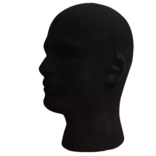 foam-mannequin-head-tonsee-male-styrofoam-foam-flocking-head-model-wig-glasses-display-stand-black