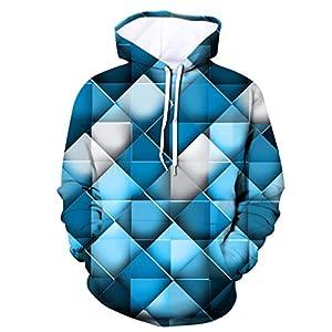 3D Print Hoodies Herren Damen Hosenanzüge 3D Printed Hoodie Mit Kapuze Lose Langarm Sweatershirt Tops