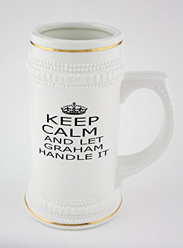 beer-mug-with-golden-rim-of-handle-it-graham-keep-calm