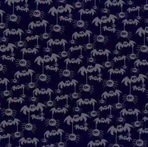 Bazzill Basics Paper 12 x 12 cm, Fledermaus Mobiles Stiefmütterchen Papier, 15 Stück, schwarz (12x12 Schwarzen Cardstock Papier)